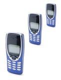 mobila telefoner Royaltyfri Fotografi