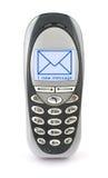 mobila telefonsms Arkivbild