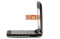 mobila telefonsms för förkortningar Royaltyfria Bilder