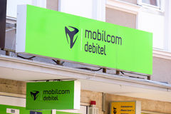 Mobilcom debitel Stock Photography