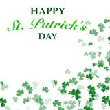 St. Patrick`s Day Background stock illustration