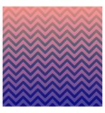 Creative abstract style poster. Pink-purple gradient Zigzag shapes background. Ready to use for Ads, social media, party, banner, stock illustration