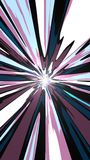 Mobile Abstract Toon Wallpaper Royalty Free Stock Images
