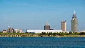 Mobile, Alabama, skyline Royalty Free Stock Photos