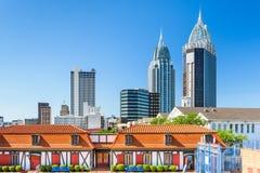 Mobile Alabama Skyline Stock Images