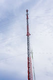 Mobile antenna Stock Images
