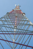 Mobile antenna. Royalty Free Stock Photography