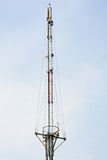 Mobile antenna tower Royalty Free Stock Photos