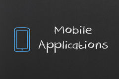Mobile Applications Stock Images