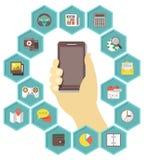 Mobile Apps Development Royalty Free Stock Photo