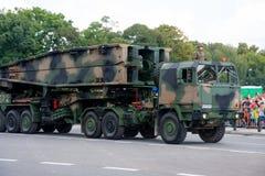 Mobile assault bridge MS-20 Daglezja Royalty Free Stock Image