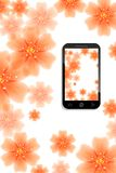 Mobile background Royalty Free Stock Image