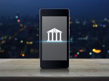 Mobile banking concept Stock Image
