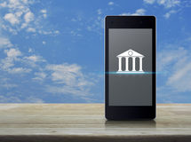 Mobile banking concept Royalty Free Stock Photo