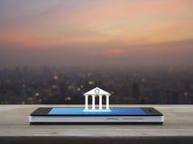 Mobile banking concept Stock Photos