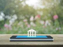 Mobile banking concept Stock Photography