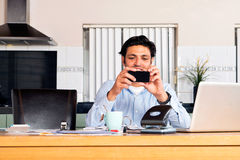 Mobile Banking Stock Photos