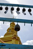 Mobile bell in Buddhist temple Stock Photo