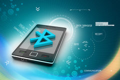 Mobile with Bluetooth connection. 3d rending of Mobile with Bluetooth connection Stock Photo