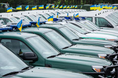 Mobile Border Detachment of the State Border Service of Ukraine Royalty Free Stock Images