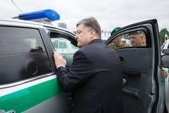 Mobile Border Detachment of the State Border Service of Ukraine Stock Photos