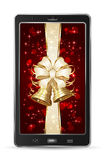 Mobile with bow and bells Royalty Free Stock Photos