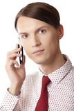 Mobile business Stock Photo