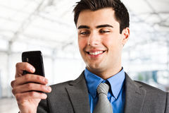 Mobile business Royalty Free Stock Photography