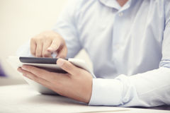 Mobile business Stock Image