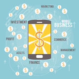 Mobile Business Royalty Free Stock Image