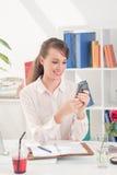 Mobile call Stock Image