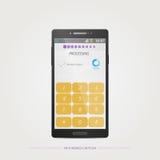 Mobile captcha Stock Photo