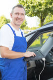 Mobile car assistance Stock Photos