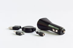 Mobile car charger Royalty Free Stock Photography