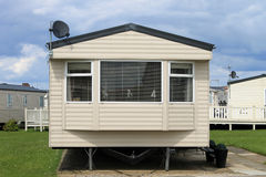 Mobile caravans or trailers Royalty Free Stock Photography