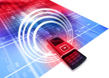 Mobile Cell Phone Royalty Free Stock Photo