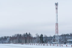 Mobile cellular tower Royalty Free Stock Photos