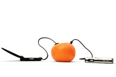 Mobile charger Royalty Free Stock Photography
