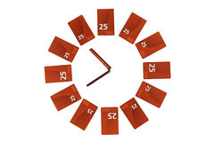 Mobile clock Royalty Free Stock Photos
