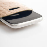 Mobile closeup isolated in the case Stock Photo