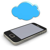 Mobile Cloud Stock Images