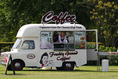 Mobile coffee shop. Stock Image