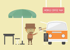 Mobile coffee Stock Images