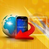 Mobile Communication Stock Photo