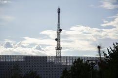 Mobile communication base station Stock Images
