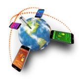 Mobile communications stock illustration