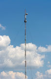 Mobile communications antenna. Stock Photography