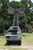 mobile communications center Stock Image