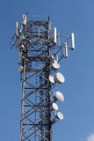 Mobile communications network tower Stock Images