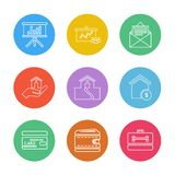 Mobile , computer , technology , calls , home , eps icons set vector. Mobile , computer , technology , calls , home , phone , wifi , internet , chart vector illustration
